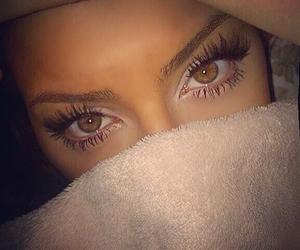 arab, eyes, and girl image