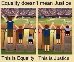 justice, equality, and quote image