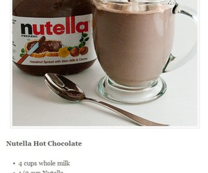 chocolate, Hot, and marshmallows image