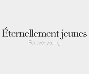 french, quotes, and forever image