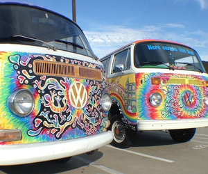 crazy, hippie, and travel image