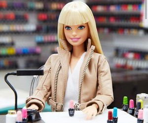 barbie and opi image