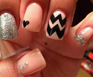 beauty, nails, and romantic image