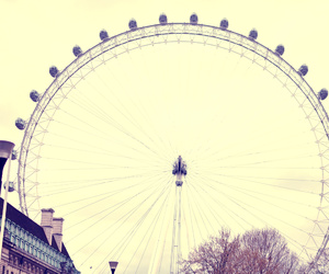 london and ferris wheel image