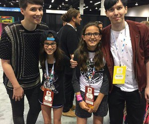 phil lester, dan howell, and vidcon image