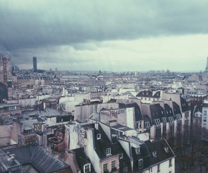 city, cityscape, and cloudy image