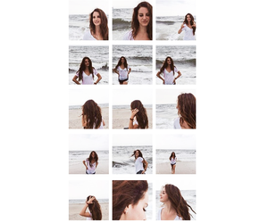 ocean, art, and beach image