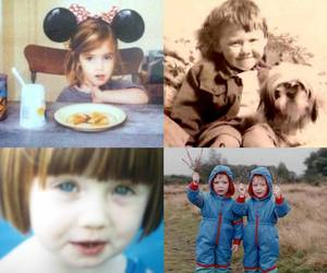 bonnie wright, harry potter, and childhood image