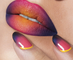 lips, nails, and beauty image