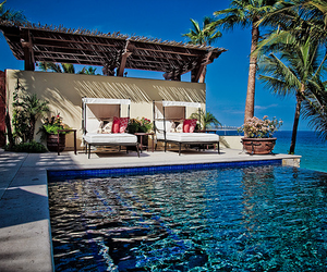blue, exotic, and house image
