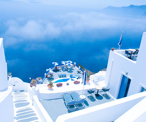Greece, blue, and sea image