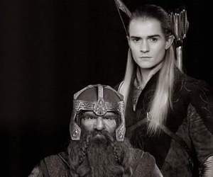 Legolas, gimli, and the lord of the rings image