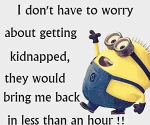 funny, minions, and laugh image