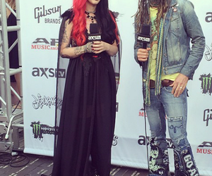 rob zombie and new years day image