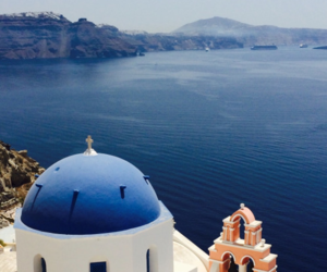 beauty, blue, and Greece image