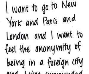 new york, paris, and quote image