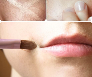 make up, tutorial, and beauty image