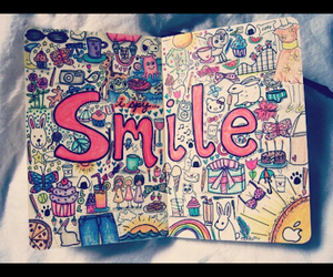 smile and drawing image