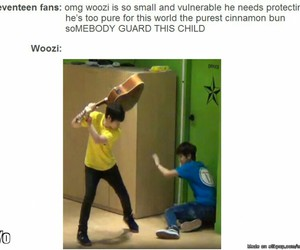 kpop, Seventeen, and kpop funny image