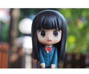 anime, girl, and sawako image