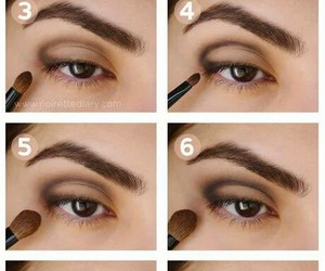 eyes, learn, and make up image