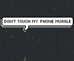 phone, wallpaper, and muggle image