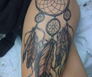 dream catcher and tattoo image