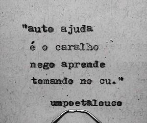 frases, brasil, and poemas image