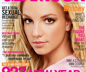 britney spears, glamour, and magazine image
