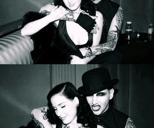 Marilyn Manson, Dita von Teese, and couple image