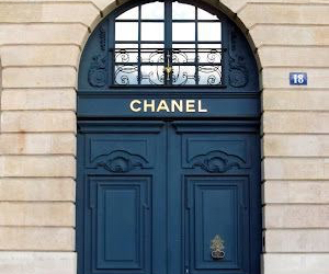 chanel, door, and paris image