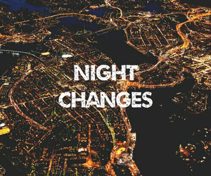one direction, city, and night image