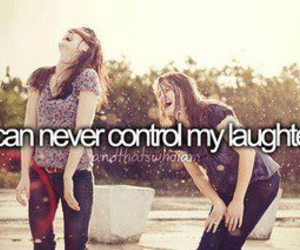 laugh, friends, and laughter image
