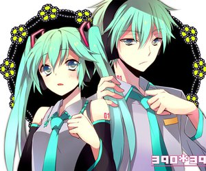 miku, vocaloid, and mikuo image