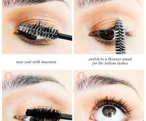 makeup, lashes, and diy image