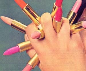 amazing, hand, and lipstick image
