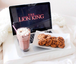 Cookies, food, and the lion king image