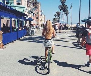 bike and long hair image