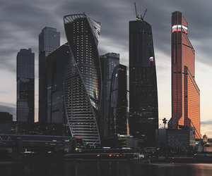 city, moscow, and building image