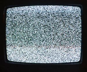 grunge, black, and tv image