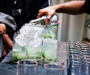 drink, mojito, and alcohol image