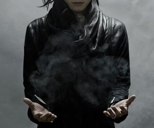 girl, magic, and smoke powers image