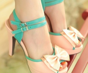 high heels, shoes, and cute image