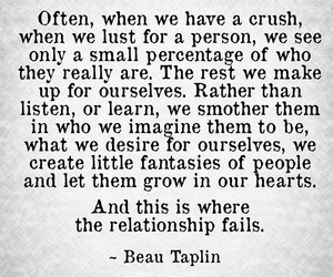 quote, love, and crush image