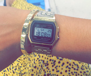 bracelet, cartier, and casio image