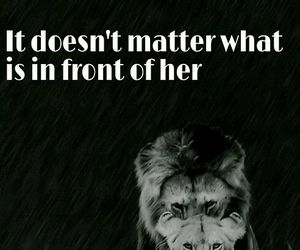 quotes and lion image
