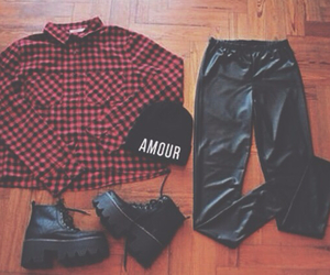 black, clothes, and tumblr image