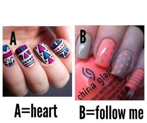 nail art, ?, and follow image