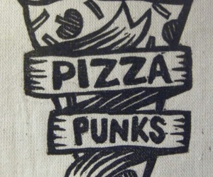 pizza, punk, and punks image