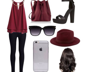 hair, outfits, and ootd image